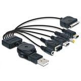 Delock Ladekabel USB 2.0zu 6-fach iPod + Nintendo