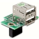 Delock USB Pinheader Buchse zu 2x USB 2.0