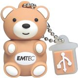4 GB EMTEC M311 Teddy braun USB 2.0