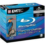 Emtec E-BD-R 25GB 2X JC 5P DISP.BOX