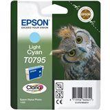Epson T0795 - Druckerpatrone - 1 x hell Cyan