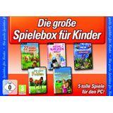 Die große Spiele Box für Kinder 5 tolle Spiele (PC)