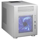 Lian Li PC-Q08A ITX Tower ohne Netzteil silber