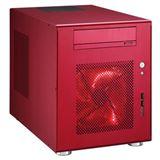 Lian Li PC-Q08R Wuerfel ohne Netzteil rot