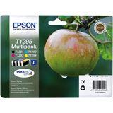 Epson Tinte C13T12954010 schwarz, cyan, magenta, gelb