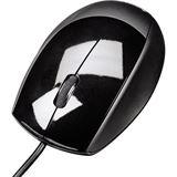 Hama Optische Maus M360 USB schwarz (kabelgebunden)
