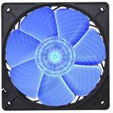 Silverstone AP121 120x120x25mm 1500 U/min 22 dB(A) schwarz/transparent