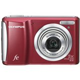 Olympus FE-47 Digitalkamera Rot
