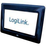 """7,0"""" (17,78cm) LogiLink Digitaler Fotorahmen PX0014 480x234 SD"""