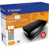 "1000GB Verbatim Desktop Hard Drive 47660 3.5"" (8.9cm) USB 3.0"