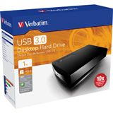 "1000GB Verbatim Desktop Hard Drive 47658 3.5"" (8.9cm) USB 3.0"