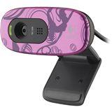 Logitech Web Kamera C270 1.0 MPixel 1280x720 Pink USB 2.0