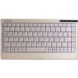 KeySonic ACK-595C+ Mini Tastatur Beige Deutsch PS/2