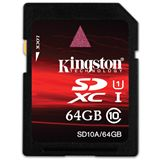 64 GB Kingston Standard SDXC Class 10 Bulk