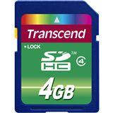 4 GB Transcend Standard SDHC Class 4 Bulk