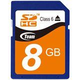 8 GB TeamGroup Standard SDHC Class 6 Bulk