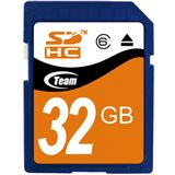 32 GB TeamGroup Standard SDHC Class 6 Bulk