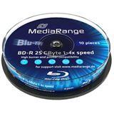 MediaRange BD-R 25 GB 10er Spindel (MR495)