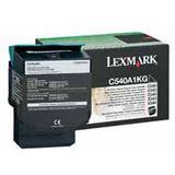 Lexmark TONER LASER SCHWARZ 1.000 SEITEN RÜCKGABE C/540/543/544