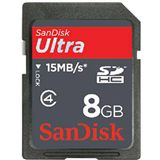 8 GB SanDisk Ultra SDHC Class 4 Bulk