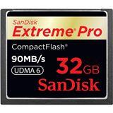 32 GB SanDisk Extreme III Compact Flash TypI 600x Bulk