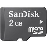 2 GB SanDisk Standard microSD Class 2 Bulk inkl. Adapter