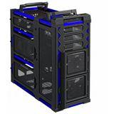 Antec LanBoy Air Blue Midi Tower ohne Netzteil schwarz/blau