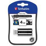 4 GB Verbatim Store `n` Go GT Edition schwarz USB 2.0