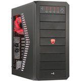 AeroCool Rs-9 Devil Midi Tower ohne Netzteil schwarz/rot