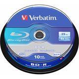 Verbatim BD-R 25 GB 10er Spindel (43742)