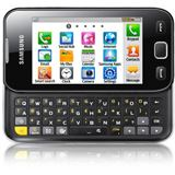 Samsung Smartphone Wave 533 metallic black