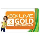 XBOX360 Microsoft Live Gold Card (3 Monate)