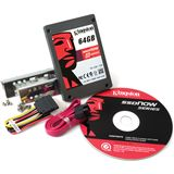 "256GB Kingston V Series 2.5"" (6.4cm) SATA 3Gb/s MLC asynchron (SV100S2D/256G)"