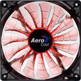 AeroCool Shark Fan Evil 140x140x25mm 800-1500 U/min 14-29.6 dB(A) schwarz/orange/transparent