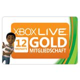 Microsoft XBOX LIVE 12 MONATE ABO