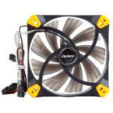 Antec TrueQuiet 120x120x25mm 600-1000 U/min 9-20 dB(A) schwarz/gelb