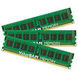 24GB Kingston ValueRAM DDR3-1066 regECC DIMM CL7 Tri Kit