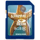 8 GB Kingston Ultimate SDHC Class 6 Bulk