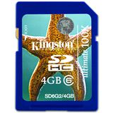 4 GB Kingston Standard SDHC Class 6 Retail