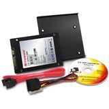 "32GB Transcend SSD 2.5"" (6.4cm) SATA 3Gb/s MLC asynchron (TS32GSSD25S-MD)"