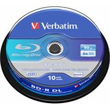 Verbatim BD-R DL 50 GB 10er Spindel (43746)