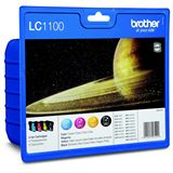 Brother Tinte LC1100 Value Pack LC-1100VALBP schwarz, cyan, magenta,