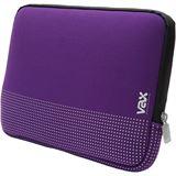 """VAX Barcelona Fontana Notebooktasche 13,5"""" (34,00cm) violett/silber"""