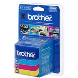 Brother Tinte LC-900RBWBP cyan/magenta/gelb