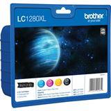 Brother Tinte LC1280XLVALBPDR schwarz/cyan/magenta/gelb