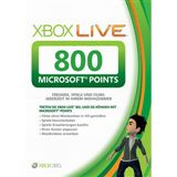 Microsoft XBox LIVE PointS 800 FOR (XBox360)