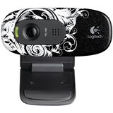Logitech HD WEBCAM C270 FLEUR DARK