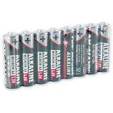 ANSMANN LR6 Alkaline AA Mignon Batterie 1.5 V 8er Pack