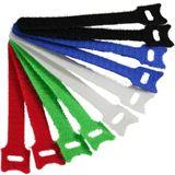 InLine Kabelbinder 12x125mm, Klett-Verschluss, 10er, 5 versch. Farben