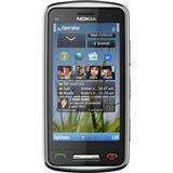 Nokia C6-01 silver grey